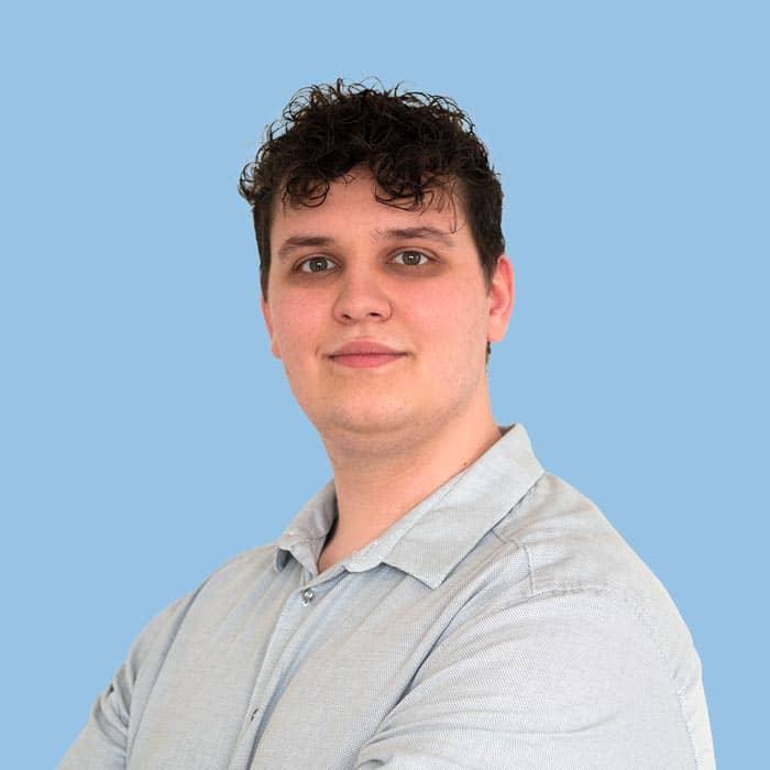Romain Odet, chef de projet numérique en gestion de patrimoine à Meyzieu