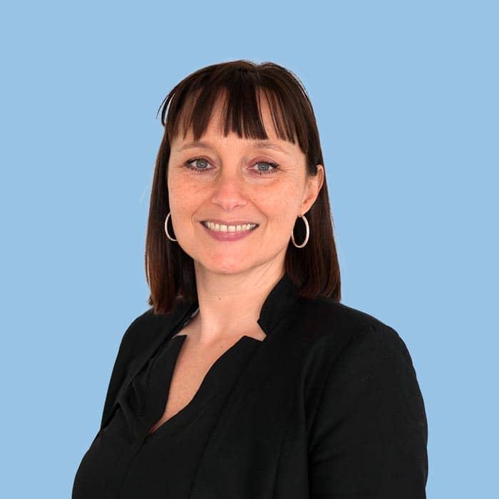 Sandra Mirailles, assistante de direction en gestion de patrimoine à Meyzieu